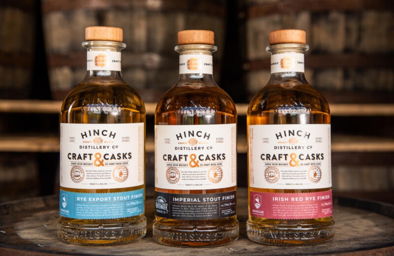 Co Down Distillery Marries Its Fine Aged Whiskey with Irish Craft Beer Casks