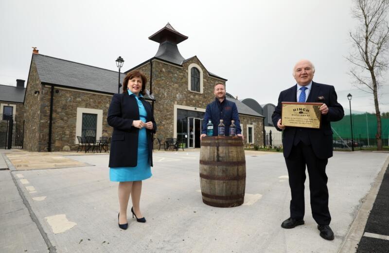 Economy Minister Cuts Ribbon on Hinch Distillery and Visitor Centre